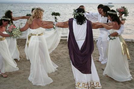 Հունական ավանդական հարսանիք